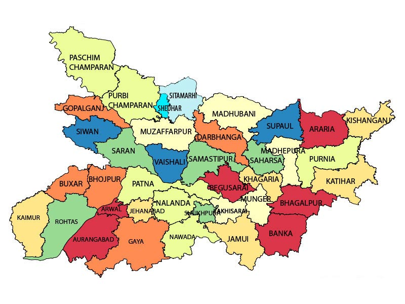 Tourists StatesCities Maps of India